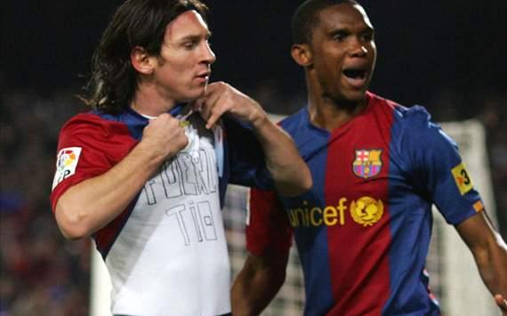 Messi - Eto'o