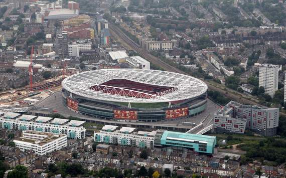 The Emirates Stadium