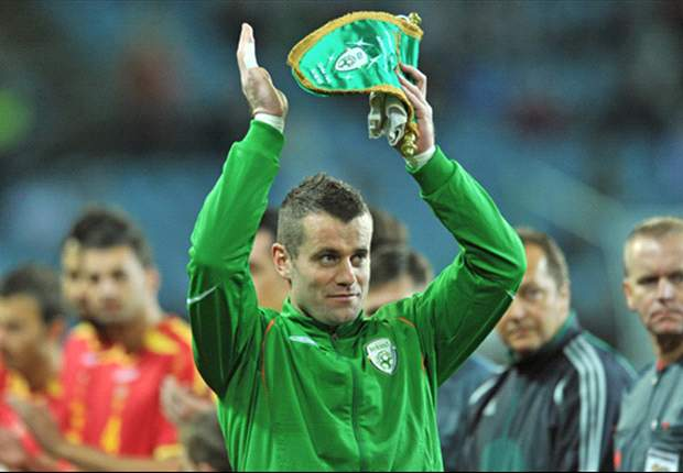 Republic of Ireland goalkeeper Shay Given considering international retirement