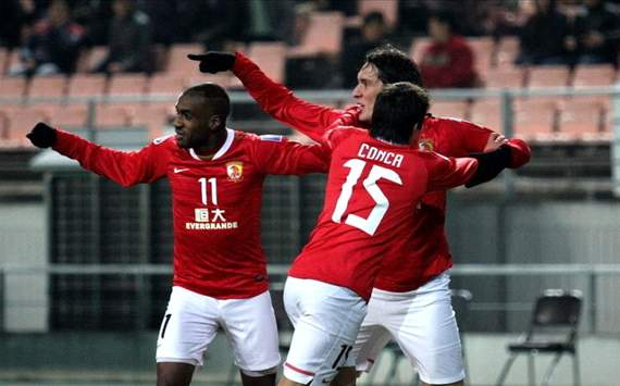 ACL : Cleo,Conca and Muriqui - Guangzhou Evergrande