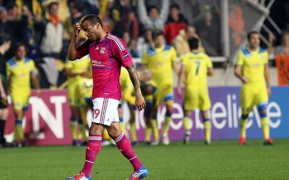 Champions League : Jimmy Briand (APOEL Nicosia vs Olympique Lyonnais)