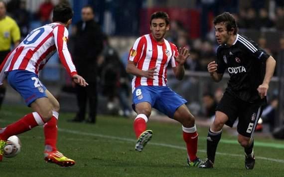 UEFA Europa League: Eduardo Salvio (Atletico Madrid), Veli Kavlak (Besiktas)