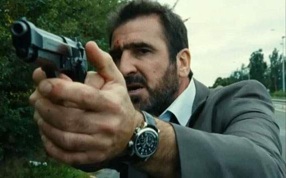 Image result for Photos of Eric Cantona acting