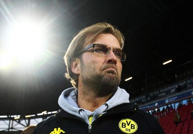 Klopp issues yellow card to Dortmund mascot for pretending to urinate on Bayern bus