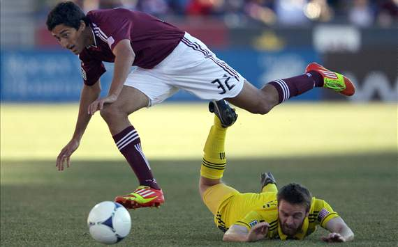 Eddie Gaven, Columbus Crew; Tony Cascio, Colorado Rapids; MLS