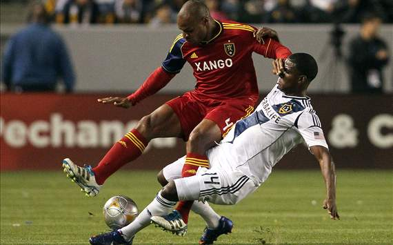 Jamison Olave, Real Salt Lake; Edson Buddle, LA Galaxy; MLS