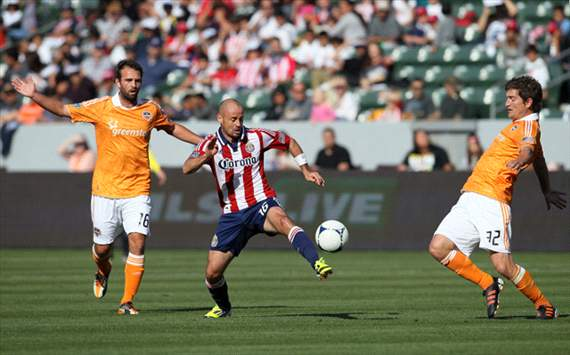 Laurent Courtois, Chivas USA, Bobby Boswell, Adam Moffat, Houston Dynamo