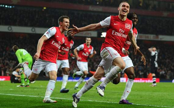 EPL, Thomas Vermaelen, Arsenal v Newcastle United