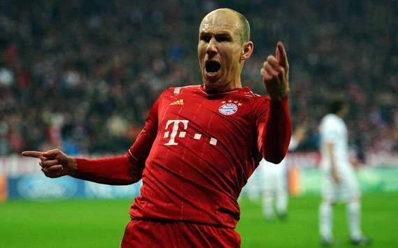 Robben: I have yet to return to my best