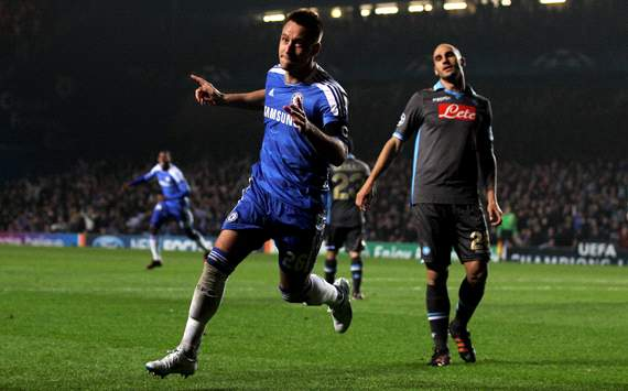 UEFA Champions League : John Terry, Chelsea FC v SSC Napoli