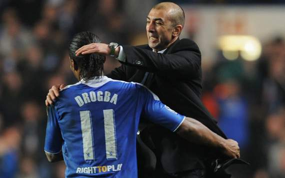UEFA Champions League, Roberto Di Matteo; Didier Drogba, Chelsea FC Vs SSC Napoli