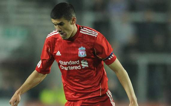 Liverpool youngster Coady revels in 'boyhood dream' debut