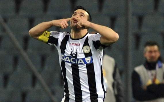 Di Natale in Udinese-Az (Europa League)