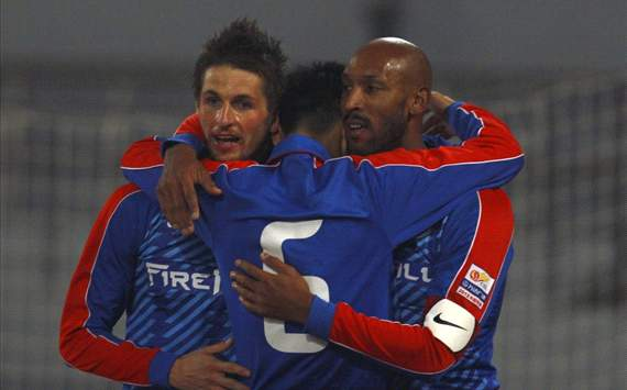 Anelka becomes player-coach as Shanghai Shenhua move on assistants
