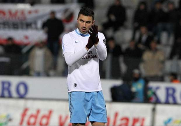 Borussia Dortmund interested in Trabzonspor striker Burak Yilmaz - report