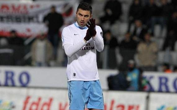 Borussia Dortmund reportedly interested in Trabzonspor's Burak Yilmaz