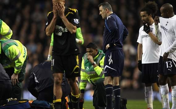 FA Cup - Tottenham Hotspur v Bolton Wanderers, Owen Coyle, Benoit Assou-Ekotto, William Gallas and Darren Pratley