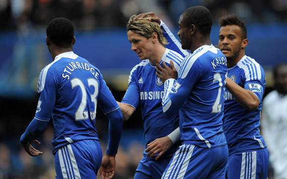 Fernando Torres vs Leicester City Home all goals