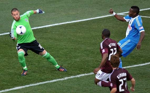 Matt Pickens, Colorado Rapids, Danny Mwanga, Philadelphia Union, MLS