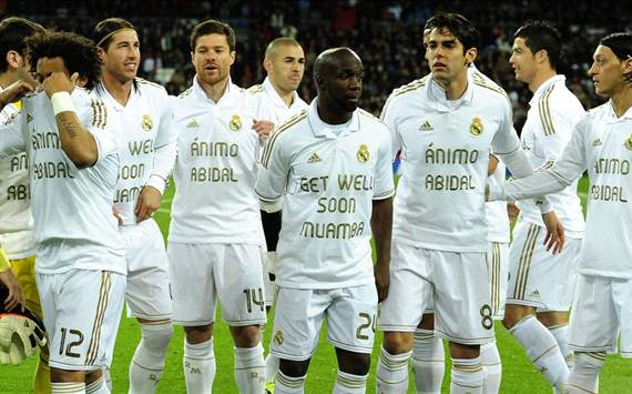 Muamba Get Well Soon, Real Madrid
