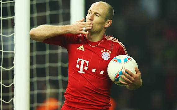 Robben: I want to stay at Bayern for the rest of my career