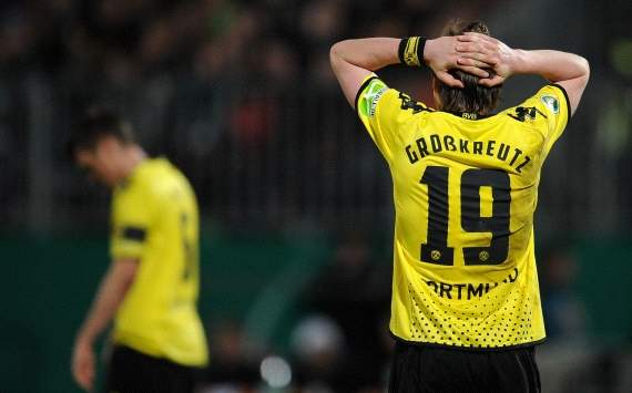 Germany, Cup, SpVgg Greuther Fuerth vs. Borussia Dortmund, Kevin Grosskreutz