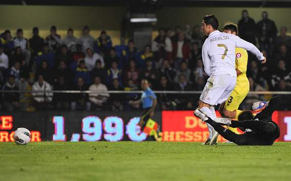 Cristiano Ronaldo, Villarreal, Real Madrid