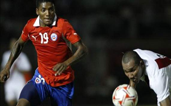 Junior Fernandes y John Galliquio - Per vs Chile