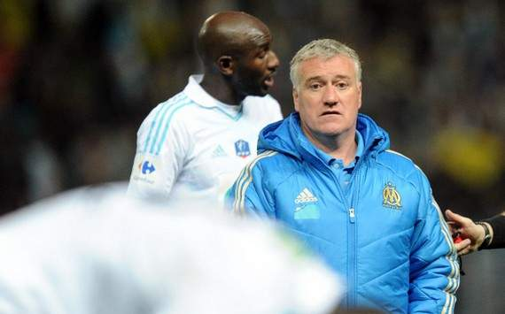 Coupe de France : Didier Deschamps & Alou Diarra (Olympique de Marseille)