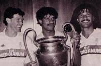 Van Basten - Rijkaard - Gullit - Milan 1990