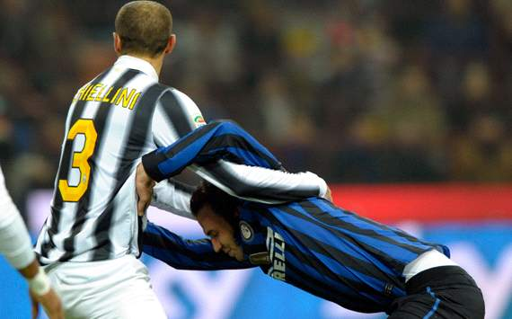 Chiellini &amp; Pazzini - Juventus-Inter