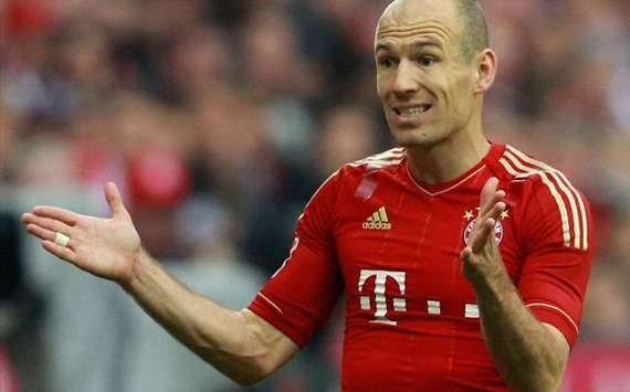 Arjen Robben (FC Bayern Munich - Hannover 96)