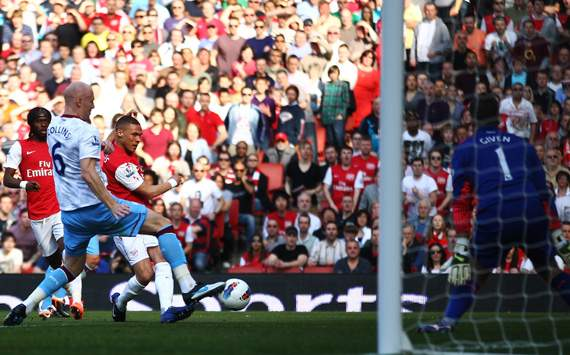 EPL, Arsenal Vs Aston Villa, Kieran Gibbs