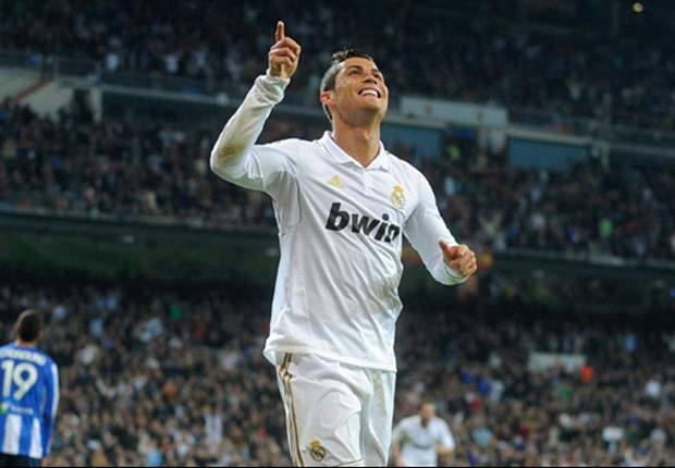 With 131 goals in 131 games, Cristiano Ronaldo is now up to 10th on the all-time list of Real Madrid goalscorers