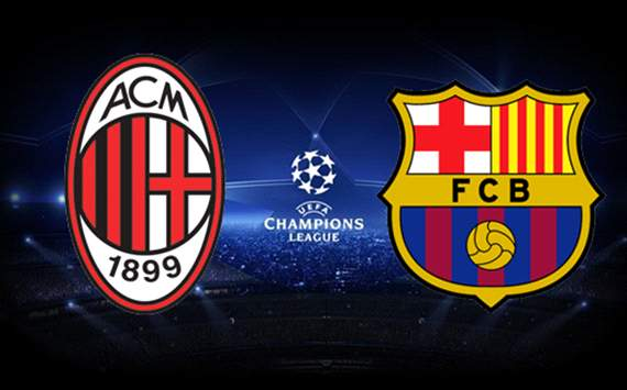 Mix Milan vs Barcelona