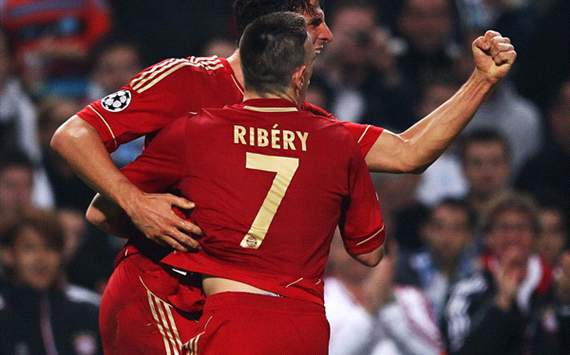 Olympique de Marseille v FC Bayern Munich - UEFA, Ribery and Gomez