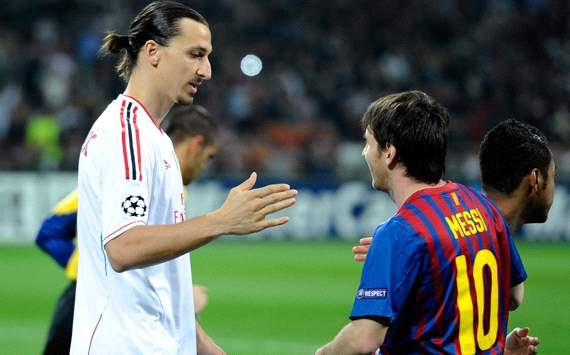 Ballon d'Or - Ibra vote contre Messi