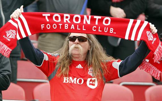 Toronto FC fan, MLS