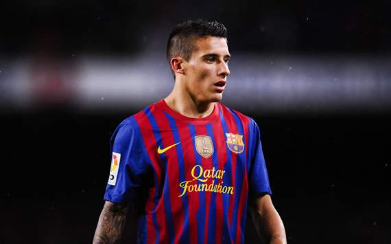 TEAM NEWS: Cristian Tello starts for Barcelona against Athletic Bilbao as Adriano replaces Carles Puyol