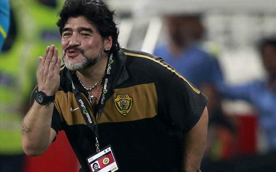 Maradona: San Lorenzo called but I could never leave Al Wasl