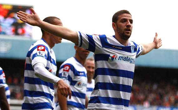 EPL: Adel Taarabt, QPR v Arsenal