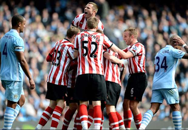 Sunderland winger Larsson admits disappointment at Manchester City draw