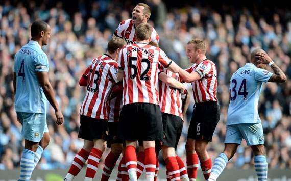 EPL - Manchester City vs Sunderland, Sebastian Larsson