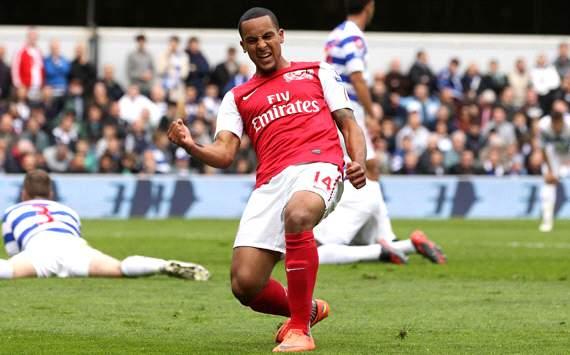 EPL: Theo Walcott, QPR v Arsenal
