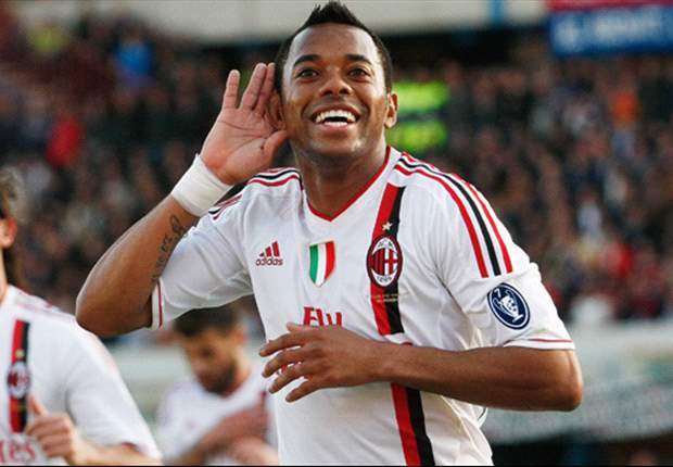 Agent: Robinho is happy at AC Milan