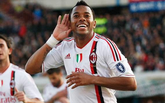 Robinho is happy at AC Milan, says agent