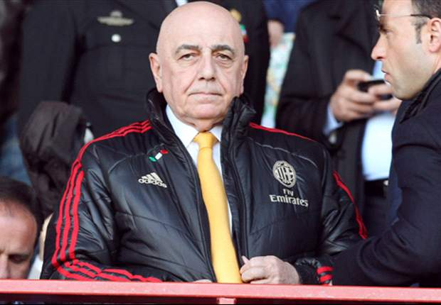 Galliani: AC Milan's transfer market already closed