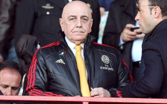 Galliani asks for extra referees after Milan denied goals against Juventus & Catania