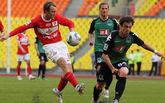 Aiden McGeady of Spartak Moscow