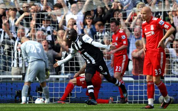 EPL: Papiss Cisse, Newcastle United v Liverpool